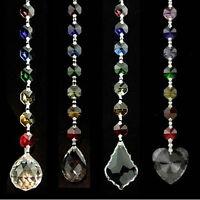 Feng Shui  Chakra chain Rainbow Prisms, Crystal Window Decorations, Suncatchers