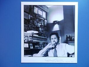 Film Directors Producers - David Puttnam - Schlesinger - 4 Signed Photos/Pages