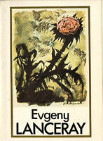 Very Rare EVGENY LANCERAY 16 LARGE cards in folder Russian / English captions