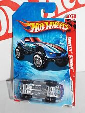 Hot Wheels 2010 Race World Jungle #213 Corvette Stingray 4x4 Blue w/ OR5SPs