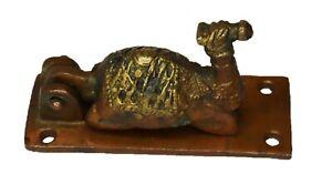 Seated Camel Shape Door Bell Antique Victorian Style Handmade Brass Door Knocker