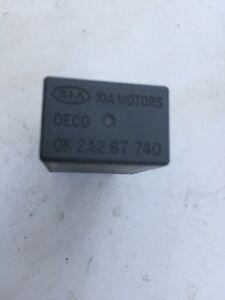KIA SPORTAGE 2004-09 CRDI DECO 4 PIN GREY RELAY 0K2A267740