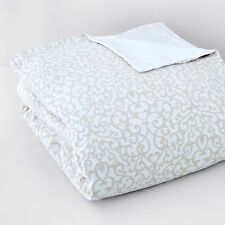 NEW Bloomingdale 1872 Louisa Duvet, Full/Queen Beige Y154