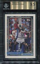 1992 Topps Basketball #362 Shaquille O'neal Rookie BGS 9.5 Gem Mint (psa 10) HOF