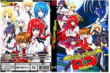 High School DxD Season 1-4 Episodes 49 + 4 Ovas + 6 Specials Uncensored Dual Aud