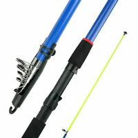 Telescopic Fishing Rod 2.1-3.6m Outdoor Fishing High Strength Fiberglass Sea