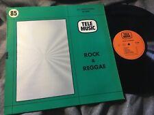 LIBRARY LP: PEZIN CHANTEREAU DAHAN - ROCK & REGGAE Tele Music #85 SELECTED SOUND