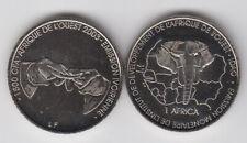 IVORY COAST 1500 CFA 2003 Elephant, unusual coinage