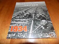GERMANY IN UNIFORM From Reichswehr to Wehrmacht WWII Nazi Uniforms Book New