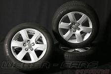 - > AUDI a6 4g 17 pollici Cerchi in lega + gomme estive 225 55 r17 in alluminio ruote completamente < -