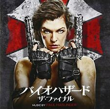 OST-RESIDENT EVIL: THE FINAL CHAPTER (BIOHAZARD)-JAPAN CD