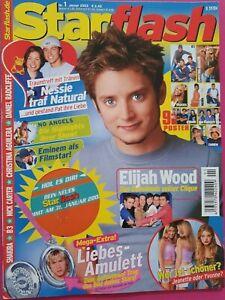 Starflash-Teenmagazin, Januar 2003- Elijah Wood, Shakira,Eminem,Daniel Radcliffe