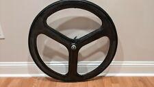 HED 3 | Tri Spoke 700C | Carbon Fiber Front Tubular Wheel
