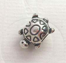 Genuine Authentic Pandora Silver Turtle Charm Bead 790158