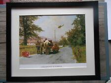 David Shepherd print 'Checkpoint At Forkhill' Army FRAMED