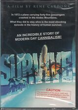 SURVIVE! airplane crash *DVD NEW* alive *CANNIBAL HORROR TRUE STORY* cannibalism