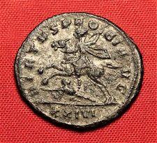 Ancient Roman Silvered Bronze Probus Antoninian Coin, Rare!