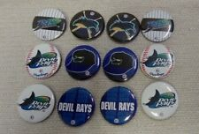 12 NOS Vintage Tampa Bay Devil Rays Buttons / Pins 1997 Wincraft 180742