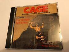 CAGE (Michael Wetherwax) OOP 1989 Soundtrack Score OST CD EX