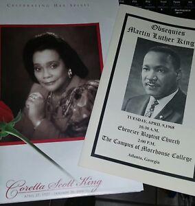 MARTIN LUTHER  KING And Coretta Scott King Funeral Celebration Of Life, Atlanta