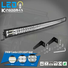 52inch Led Work Light Bar 396w Offroad Spot Flood Combo Roof Driving Truck 4wd Fits Plymouth Breeze