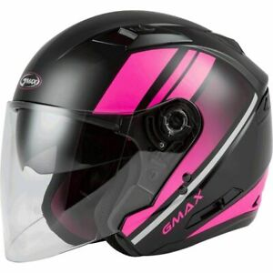 2021 Gmax OF-77 Reform Open Face Motorcycle Helmet - Pick Size & Color