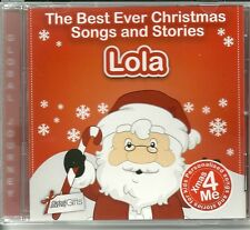 LOLA - THE BEST EVER CHRISTMAS SONGS & STORIES PERSONALISED CD