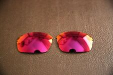 PolarLens POLARIZED Red Blue Mirror Replacement Lens for-Oakley Half Wire 2.0
