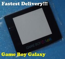 GLASS SCREEN Nintendo Game Boy Color Replacement Lens GBC system Self-Stick ~NEW