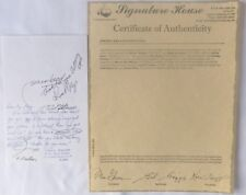 Russ Meyers signed letter/ALS /to Mark Baker/ RARE