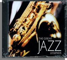 The Great Jazz Legends #1 - New Various Artists CD! Big Name Stars!