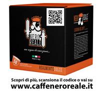 50 CAPSULE CAFFE NERO REALE MISCELA SUPREMA COMPATIBILI NESCAFE DOLCE GUSTO