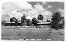 RPPC KAUAI INN Lihue, Kauai, Hawaii Swimming Pool Vintage 1951 Postcard