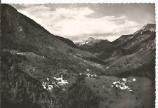 160193 BERGAMO RONCOBELLO - VAL BREMBANA Cartolina FOTOGRAFICA viaggiata 1955