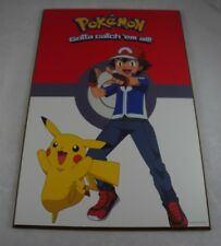 Pokemon Nintendo 2016 Gotta Catch em all Poster Mounted on Board Red 19x13