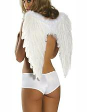 COSTUME ANGEL WINGS WHITE FEATHERS COSTUMES FIESTA HALLOWEEN CARNIVAL 81250-1