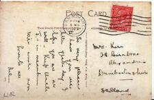 Genealogy Postcard - Kerr - Burnbrae - Alexandria - Dunbartonshire - 2979A