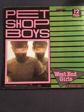 """VINILE, 12"""" discoteca single, Pet Shop Boys-West End Girls, ZYX Records 5154"""