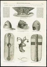 1869 LONDON SOUTH KENSINGTON Meyrick Collection Helmets and Shields  (75)