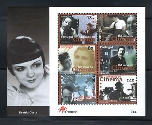 Portugal  Stamps | 1996 | 100y Portuguese Cinema Minisheet | #2356-2361 MNH