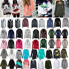 Womens Winter Hoodies Jumper Sweater Sweatshirt Pullover Jacket Outfits Outwear