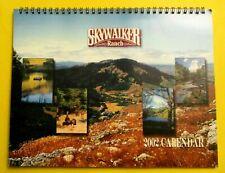 SKYWALKER RANCH CALENDAR 2002 GEORGE LUCAS STAR WARS NEVER USED