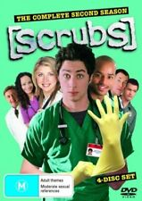 Scrubs The Complete 2nd Season DVD 4 Disc Boxset Brand New Aus Region 4