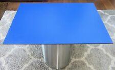 HPL Platte Tischplatte 8mm Cobalt Blue beidseitig 800 x 542 mm TRESPA® Meteon®