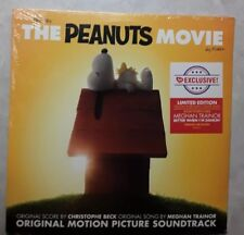 THE PEANUTS MOVIE Soundtrack 2 LP 2015 MEGHAN TRAINOR yellow brown color vinyl