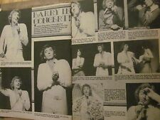 Barry Manilow, Two Page Vintage Clipping
