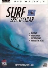 SURF Specatcular (4 DVD Collector's Set) Surfing Ride WIND / Waves / WIPEOUTS