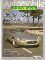 AUTOMOBILE HISTORIQUE 47 JAGUAR TYPE E LOW DRAG DENNY HULME MONTE CARLO FIAT 500