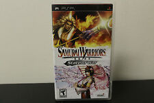Samurai Warriors: State of War  (PlayStation Portable, 2006) *Tested/Complete