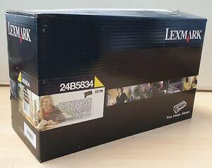 Toner ORIGINALE Lexmark XS796 GIALLO da 18K pagine - 24B5834